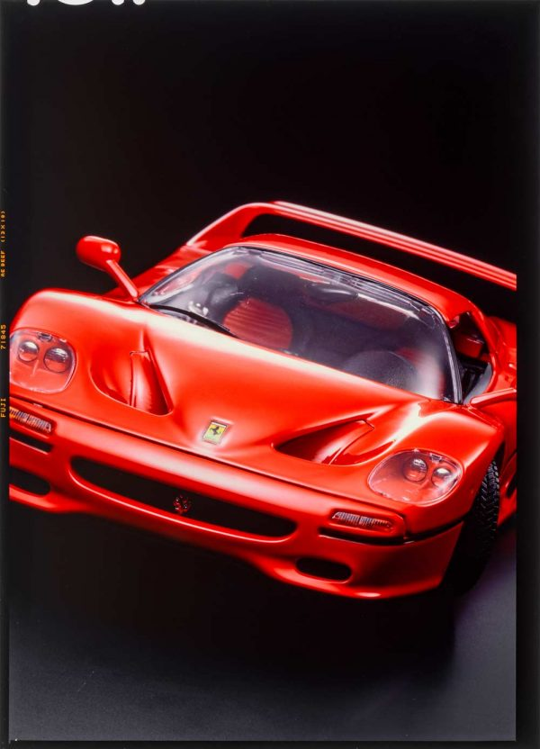001009 Bburago Ferrari F50 Hard-Top original dia