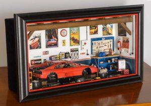 Bburago 3039GF Garage Mmonza Ferrari 348TB