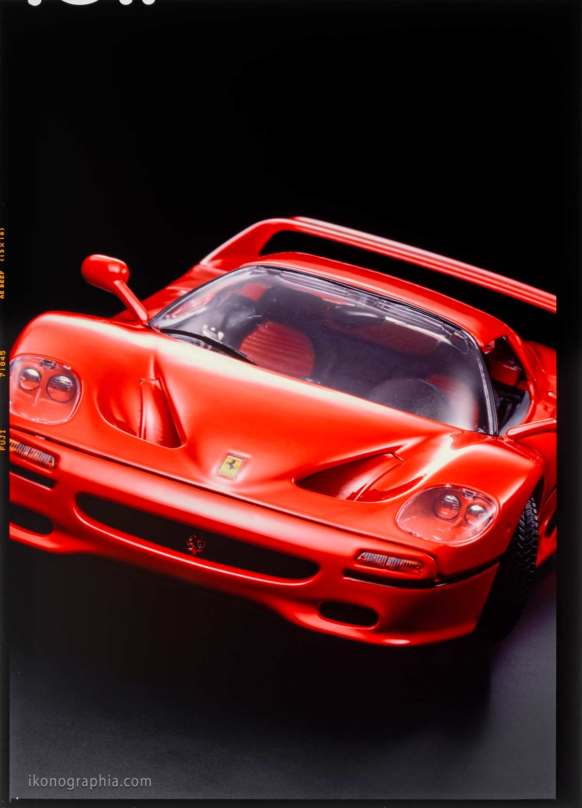 Bburago 3353 Ferrari F50 Hard-Top for Topolino Adv