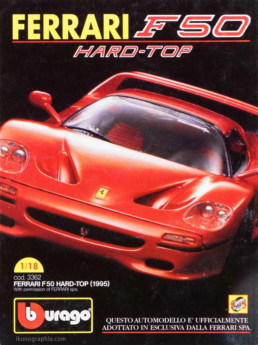 Bburago Ferrari F50 Topolino 2085 Ad