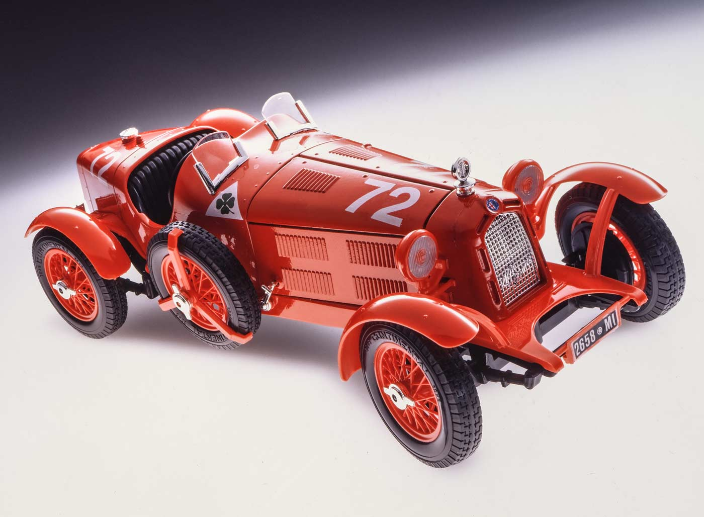 Bburago 7014 Alfa Romeo 8C GP Monaco Assembly Kit
