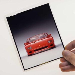 Bburago 5540 Ferrari F40 Kit vintage 1993 slide