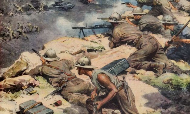 WWII according to Fascist Propaganda in Achille Beltrame's Drawings