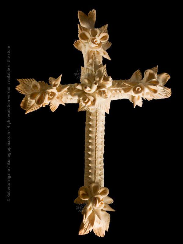Cruxi Quaresimale Lent Cross Traditional Religious Bread from Sardinia