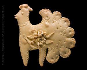 Putzoneddu, little bird. Traditional Easter bread from Sardinia.