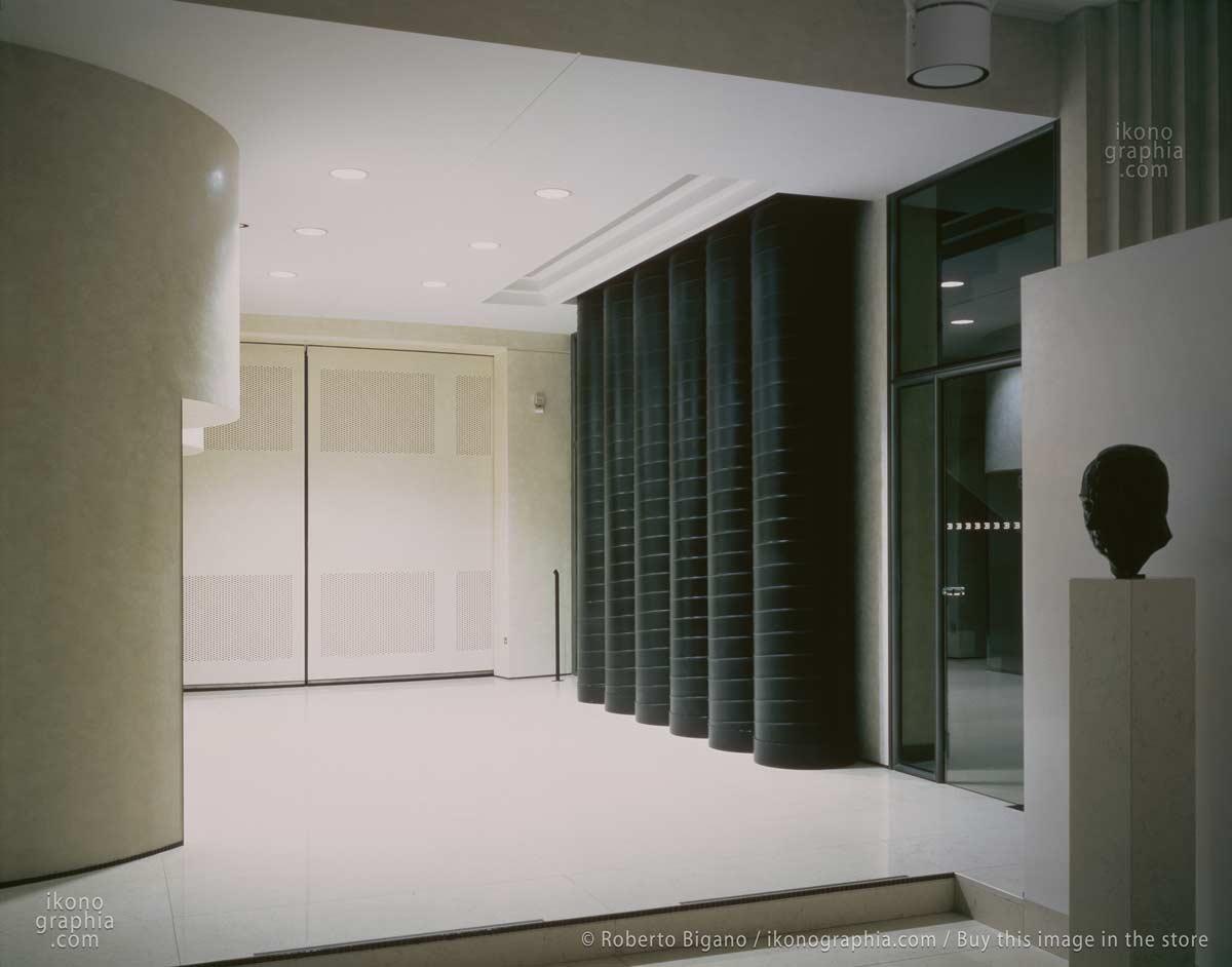 An interior in the main Building at Bugatti Automobili