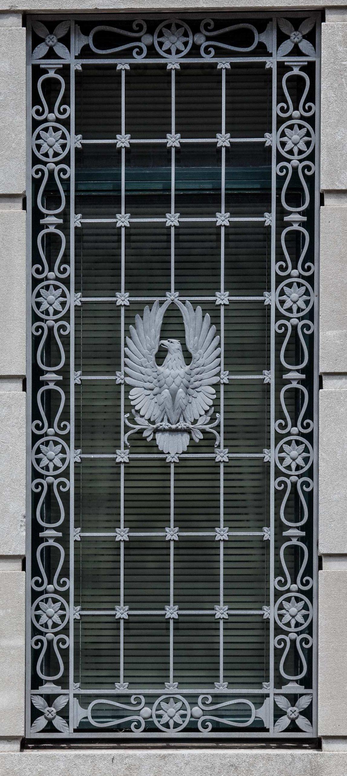 Exterior details, Clarkson S. Fisher Federal Building & U.S. Cou