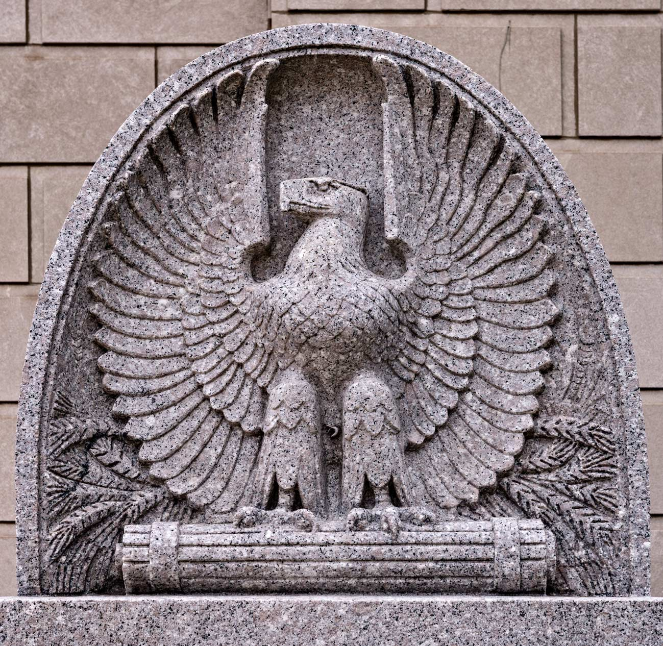 Eagle at Federal Building and U.S. Court House, Peoria, Illinois