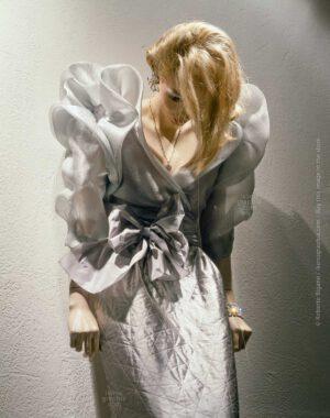 "August 1985 - Sunset Strip, Hollywood, California - From ""Plastic Girls"" series. Photo Roberto Bigano."