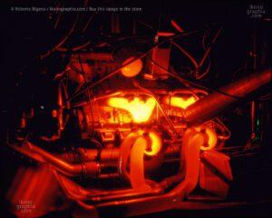 1936_75 Testing the Bugatti EB1100 engine under maximum effort. Photo by Roberto Bigano. Buy this image in the ikonographia.com store.