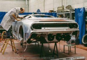 1937_56 Works in progress at Bugatti Automobili. Photo by Roberto Bigano. Buy this image in the ikonographia.com store.