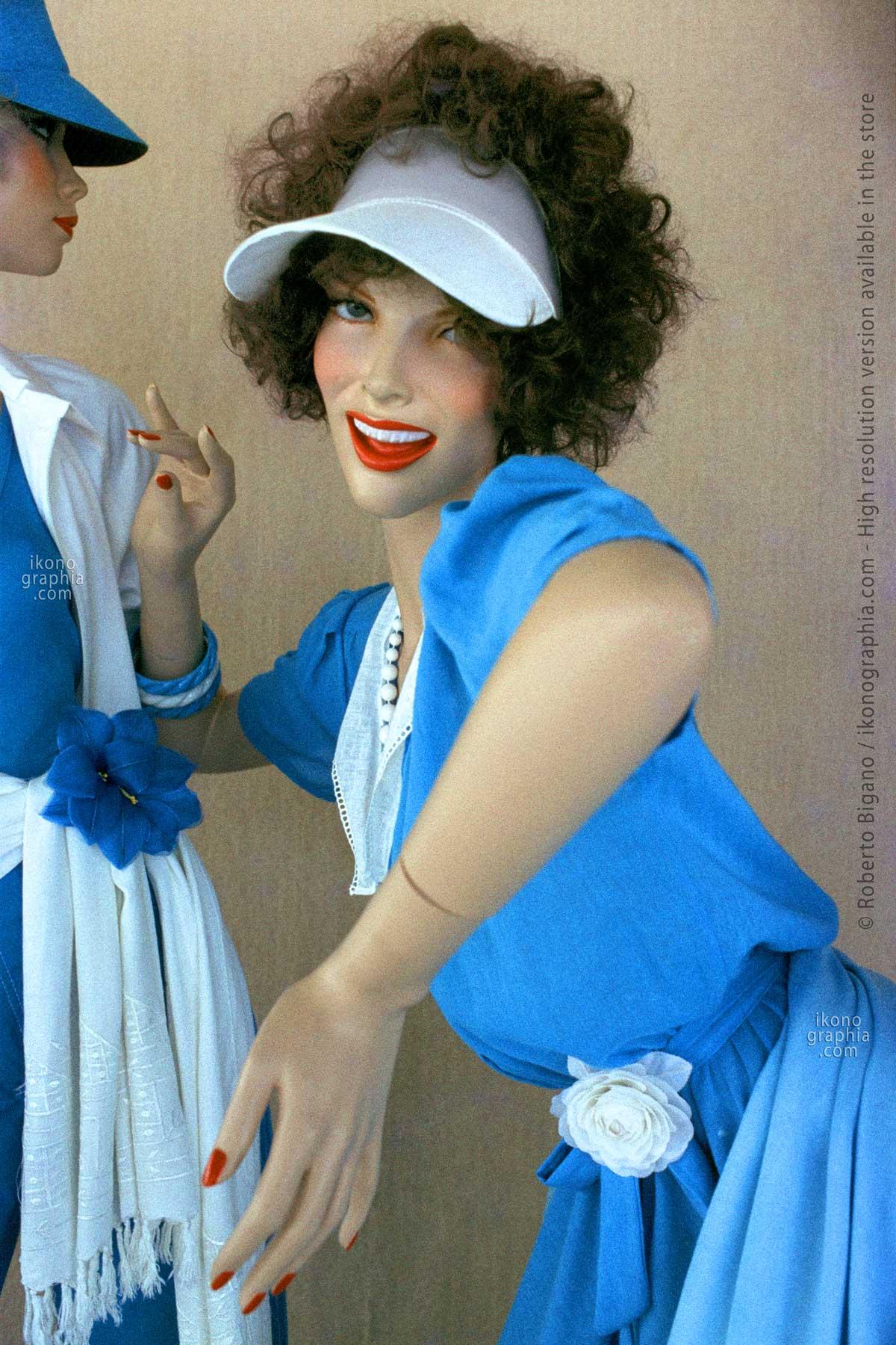 0462_38 Dummy in San Sebastian, Spain. 1980. Photo Roberto Bigano. Buy this image in the ikonographia.com store.